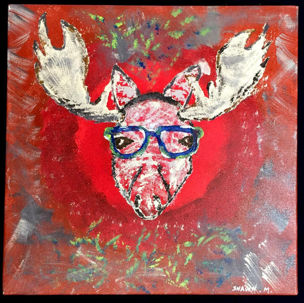 (SOLD) Moose