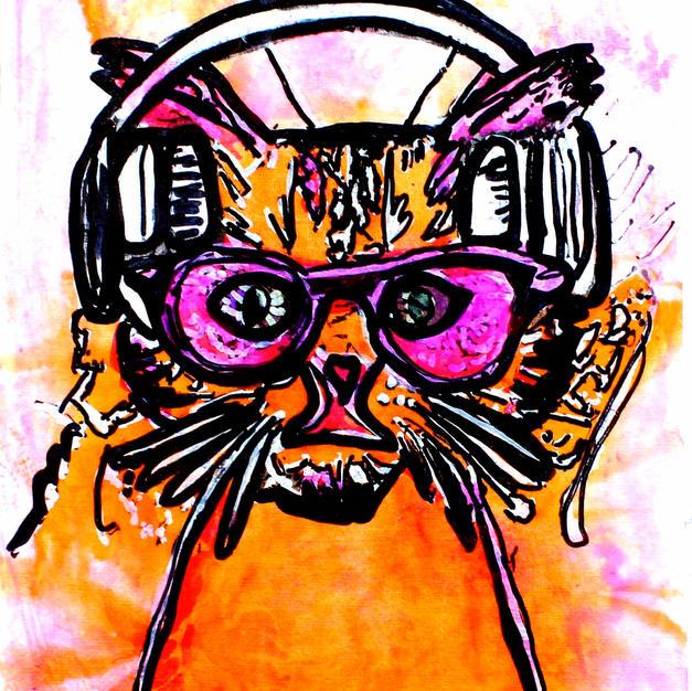 (SOLD) Techno Cat