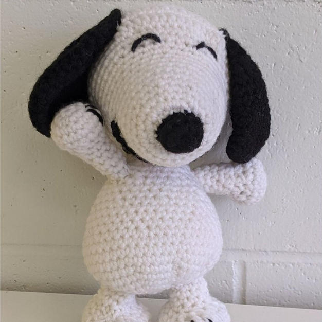 (SOLD) Dancing Snoopy