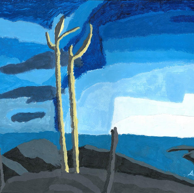 Lake Superior (after Lawren Harris)