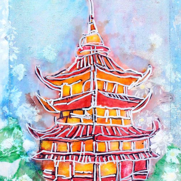 Chinese Garden - Print