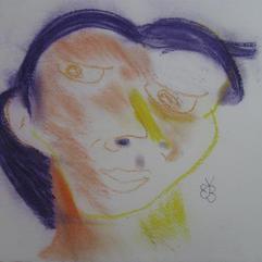 Multicoloured Face