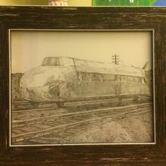 The Rail Zeppelin Drawing