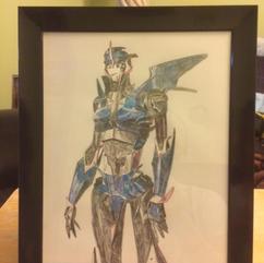 Transformers Prime Arcee Drawing