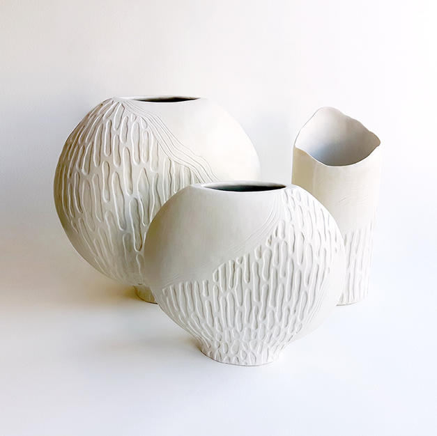 Organic Vase Forms