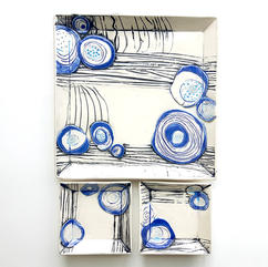Abstract Plate Set