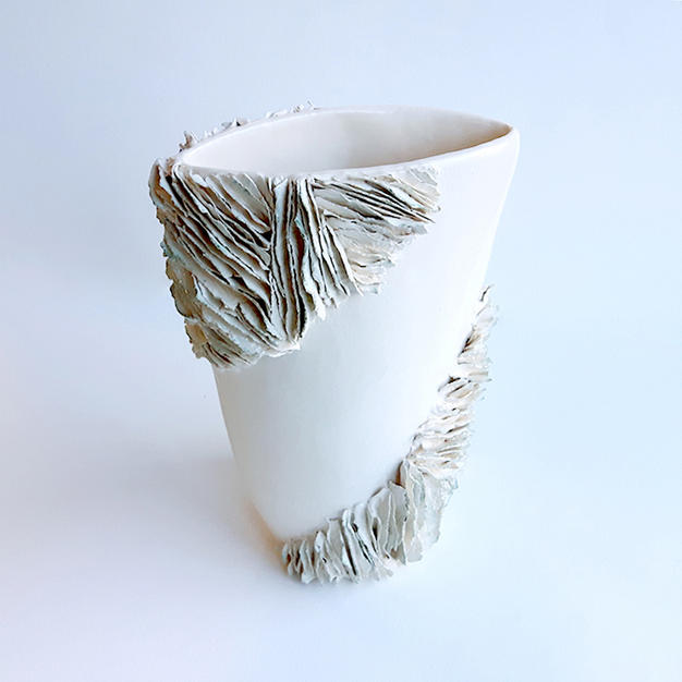 Organic Textured Vase