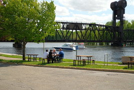Public dock for boating