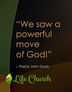 powerful move of god