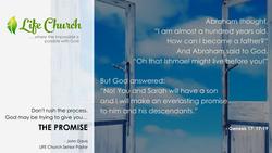 LIFE Church - Fb post - the promise