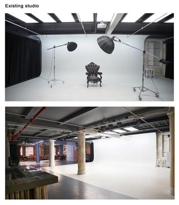 Existing studio