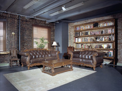 British cabinet library studio