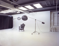 Cyclorama and antique backstage