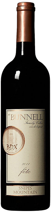 2012 BUNNELL FAMILY CELLAR FETE RED WINE