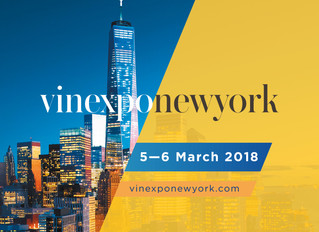 Join us at VinExpo in New York March 5th-6th, 2018. We will be in Hall 1D, booth 1128.