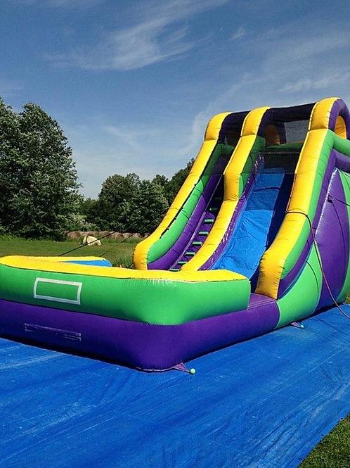 20ft water slide