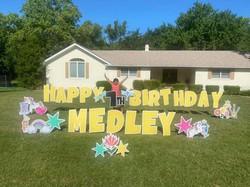 medley's bday