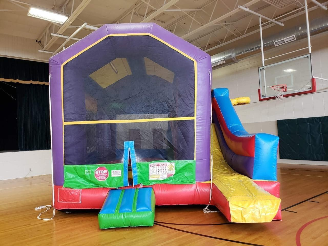 16' Bounce House/Slide Combo