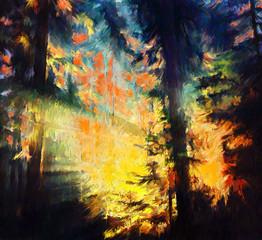 Forest Inferno