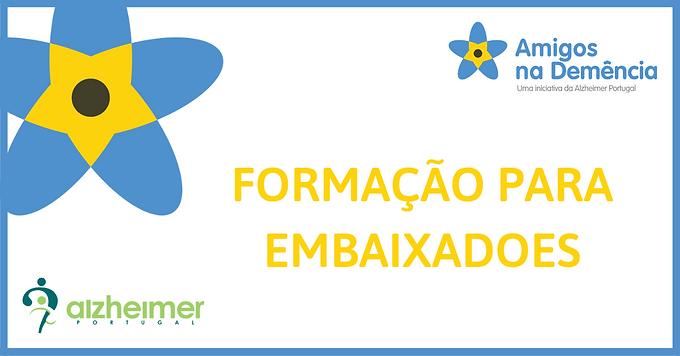 Formação para Embaixadores Amigos na Demência