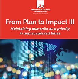 Relatório Alzheimer's Disease International 2020