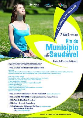 Câmara Municipal de Oeiras celebra a 2ª Edição do Dia do Município Saudável