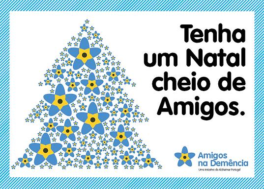 Postal de Natal Solidário