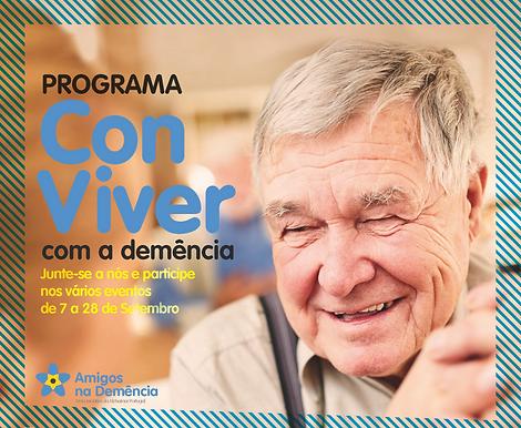 """Programa """"ConViver com a Demência"""""""