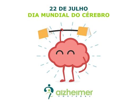 22 de julho     Dia Mundial do Cérebro