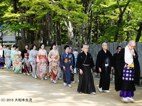 高野山1200祭献花(再掲載)
