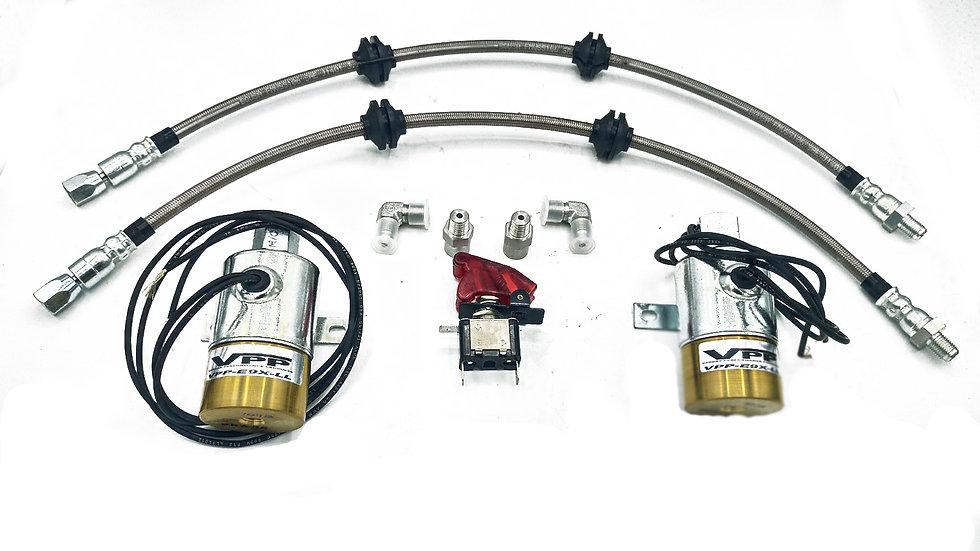 VTT A90/1 Supra Line Lock/Stainless Steel Brake Line Kit