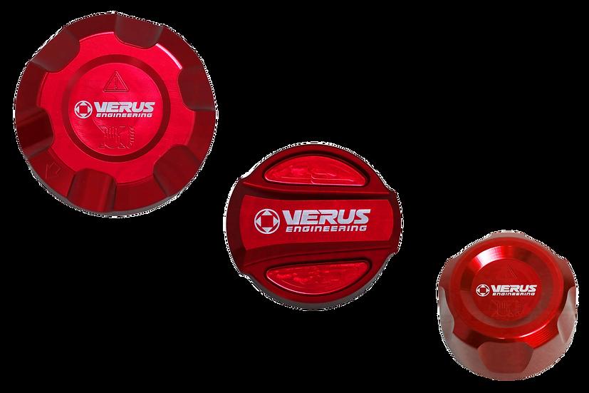 Verus Engineering Engine Bay Fluid Cap Kit  Mk5 Toyota Supra