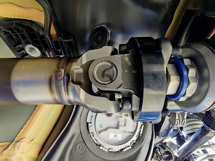 VTT A90/91 Supra 4130 Chromoly Driveshaft