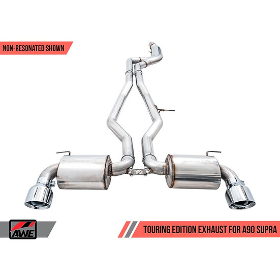AWE 2020 Toyota Supra A90 Touring Edition Exhaust - 5in Tips