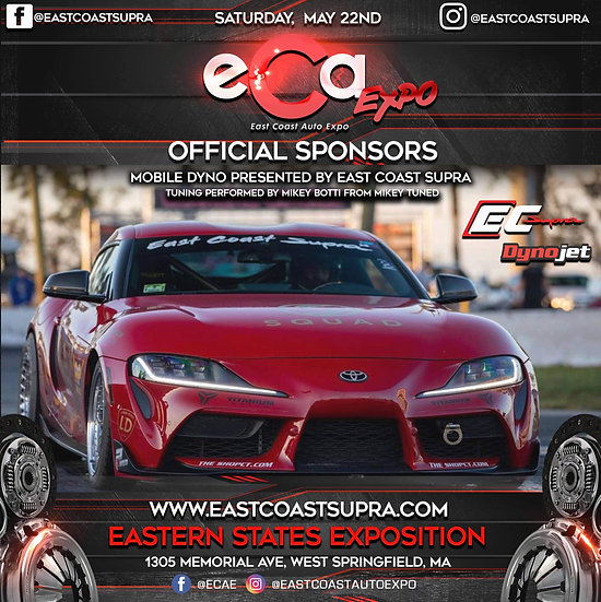 Mobile Dyno Reading Slots At East Coast Auto Expo May 22 2021