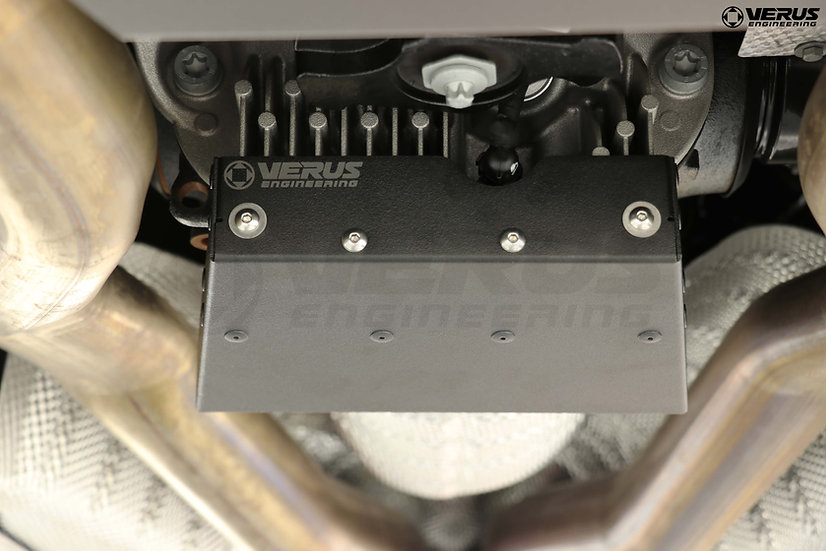 Verus Engineering Rear Differential Cooling Plate Mk5 Toyota Supra