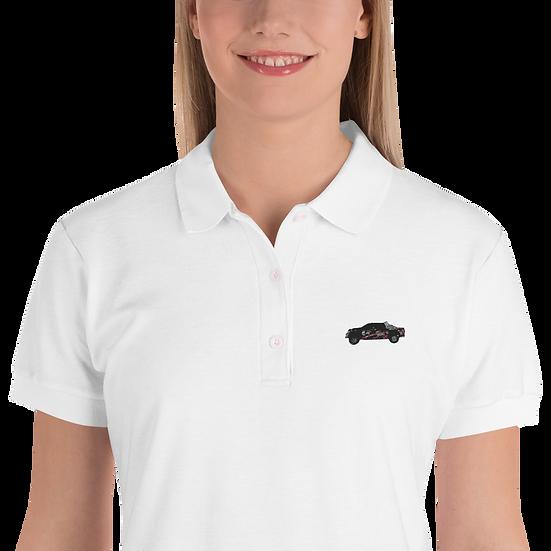 East Coast Raptor Embroidered Women's Polo Shirt