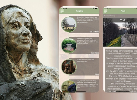 Mary Ward App now available
