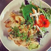 Have you tried the tempura mushroom dish