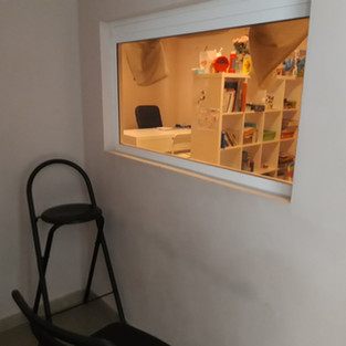 Sala de observación Psicología 2
