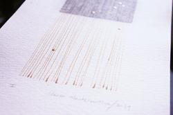 Papel salado y tinta
