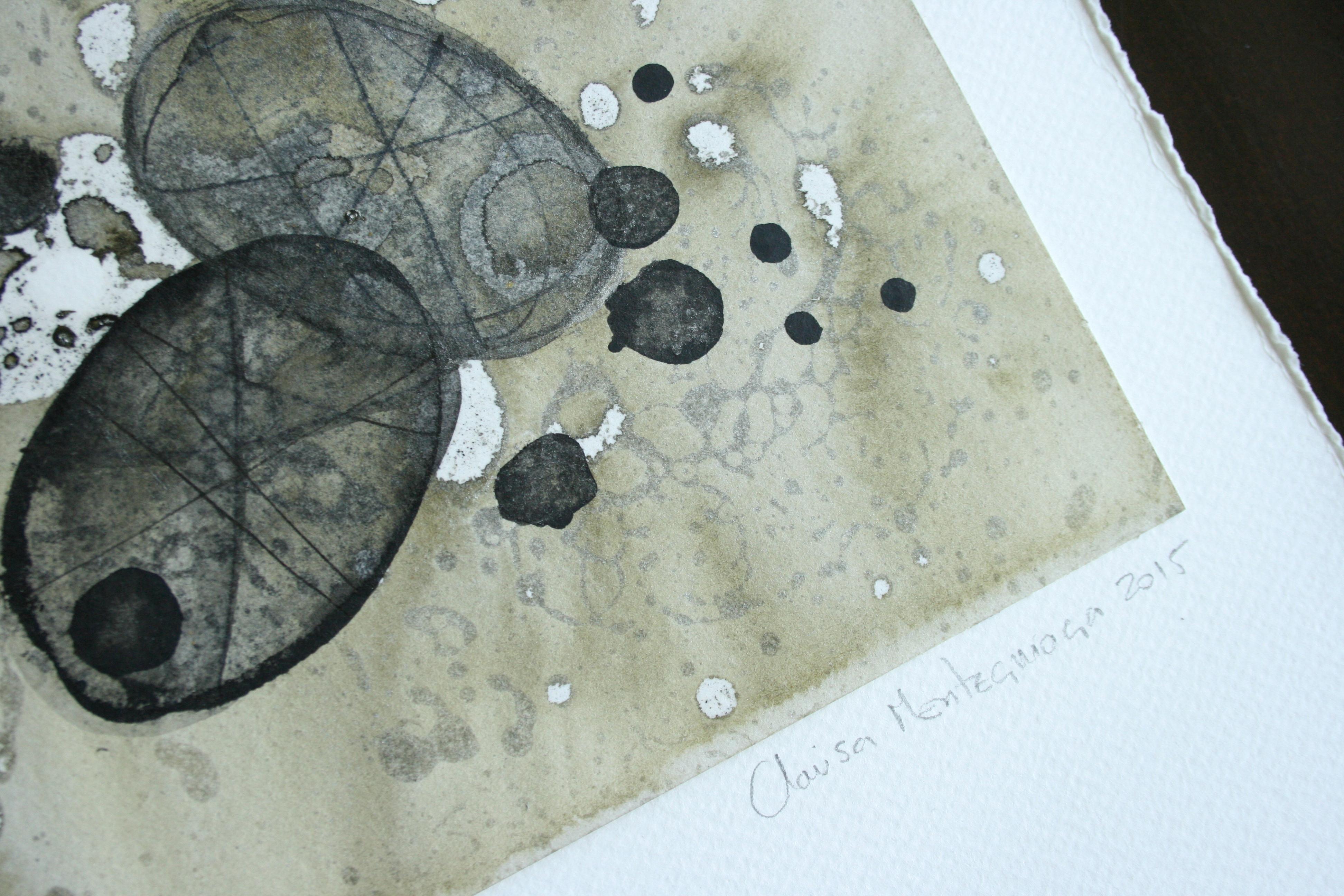 Tinta, aceite