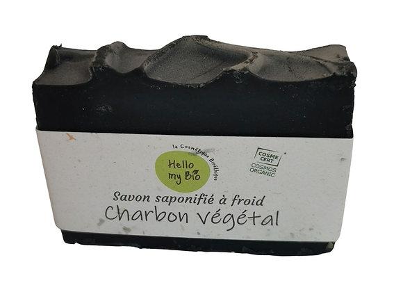 Savon solide artisanal charbon végétal