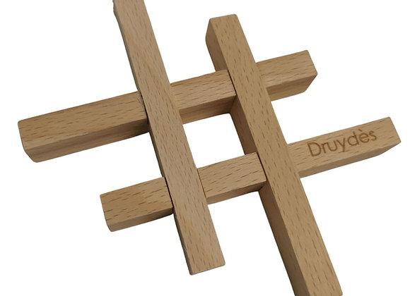 Porte savon en bois démontable