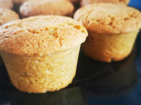 Muffins cœur de confiture