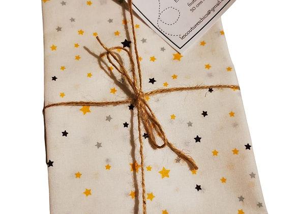 Emballage cadeau en tissu fait main (50x50cm)