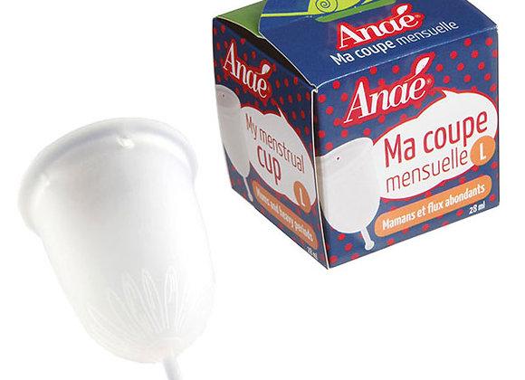 Coupe menstruelle (Taille L)