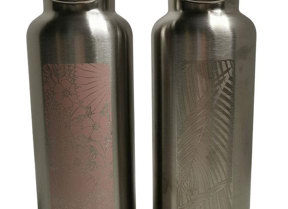 Gourde isotherme Groovy en Inox (500mL)