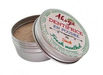 Dentifrice en poudre adulte Fresh Menthol