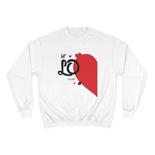 Bella X Champion Valentine Sweatshirt